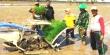 Ket Gambar : Teknologi mesin tanam padi atau rice transplanter mulai diperkenalkan di Kabupaten Pinrang, Kelurahan Benteng Sawitto, Kecamatan Paleteang.